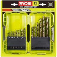 Набор свёрл по металлу RYOBI RAK19HSS2 19шт (5132004390)