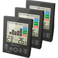 Термогигрометр BRESSER MA Digital Hygrometer with Mould Alert Set 3шт Black (7007411)