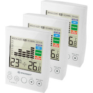 Термогигрометр BRESSER MA Digital Hygrometer with Mould Alert Set 3шт White (7007412)