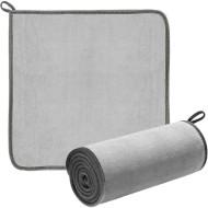 Рушник для мийки авто BASEUS Easy Life Car Washing Towel 2-Pack Gray 40x40mm (CRXCMJ-0G)