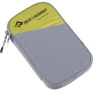 Портмоне SEA TO SUMMIT Travel Wallet Large Lime Gray (ATLTWRFIDLLI)