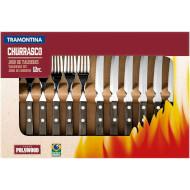Набір столових приборів TRAMONTINA Barbecue Polywood 12пр (21199/903)