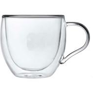 Набір чашок CON BRIO Double Glass 90мл 2шт (CB-8609-2)