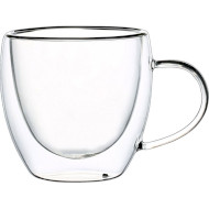 Набір чашок CON BRIO Double Glass 250мл 2шт (CB-8625-2)
