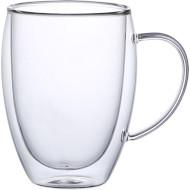Набір кружок CON BRIO Double Glass 350мл 2шт (CB-8635-2)