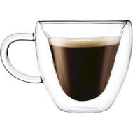 Набір чашок CON BRIO Double Glass 300мл 2шт (CB-8930-2)