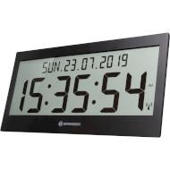 Настенные часы BRESSER Jumbo LCD Wall Clock Black (7001802CM3000)