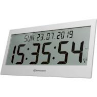 Настенные часы BRESSER Jumbo LCD Wall Clock Gray (7001802QT5000)
