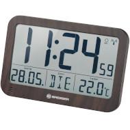 Настенные часы BRESSER MyTime MC LCD Wall/Table Clock in Wooden Design (7001802)