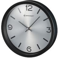 Настенные часы BRESSER MyTime Silver Edition Wanduhr Black (8020316CM3000)