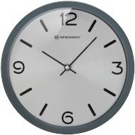 Настенные часы BRESSER MyTime Silver Edition Wanduhr Gray (8020316MSN000)