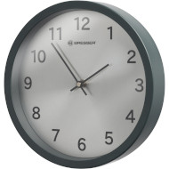 Настенные часы BRESSER MyTime Silver Edition Wanduhr Matte Graphite (8020314UJT000)