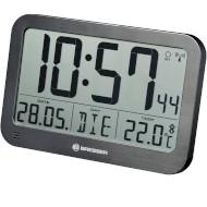 Настенные часы BRESSER MyTime MC LCD Wall/Table Clock Black (7001803)