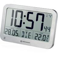 Настенные часы BRESSER MyTime MC LCD Wall/Table Clock Silver (7001801)
