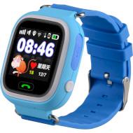 Годинник-телефон дитячий GOGPS K04 Blue