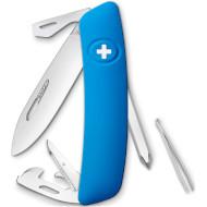 Швейцарский нож SWIZA D04 Blue (KNI.0040.1030)