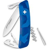 Швейцарский нож SWIZA C03 Blue Urban (KNI.0030.2030)