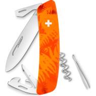 Швейцарский нож SWIZA C03 Orange Fern (KNI.0030.2060)