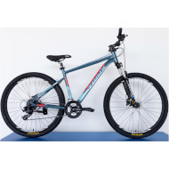 Велосипед TRINX Majestic M600 Elite Expert Cyan/Red/Blue 27.5""