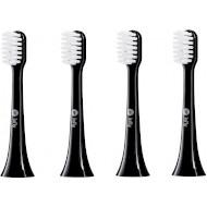 Насадка для зубної щітки XIAOMI INFLY Toothbrush Head for PT02 Black 4шт