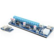 Райзер GEMBIRD RC-PCIEX-03