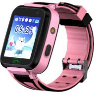 Годинник-телефон дитячий GOGPS K07 Pink