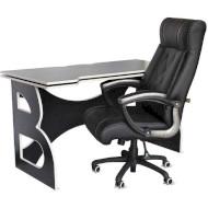 Комплект геймерской мебели BARSKY HomeWork Game Black/White (HG-06/BD-01)