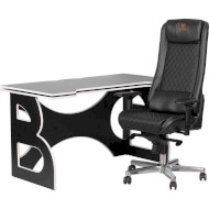 Комплект геймерской мебели BARSKY HomeWork Game Black/White (HG-06/GB-01)