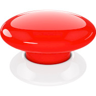 Бездротовий вимикач FIBARO The Button Z-Wave Red (FGPB-101-3)