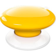 Бездротовий вимикач FIBARO The Button Z-Wave Yellow (FGPB-101-4)