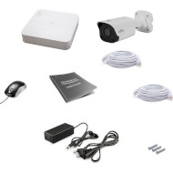 Комплект видеонаблюдения UNIVIEW NVR301-04L-P4 + IPC2124LR3-PF40M-D
