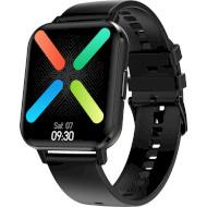 Смарт-часы NO.1 DTX Silicone Black