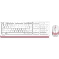 Комплект клавиатура + мышь A4TECH Fstyler FG1010 Pink