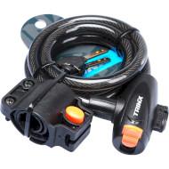 Складаний велозамок TRINX TL03 з кріпленням 120х1.2 см (TL03.LOCK)