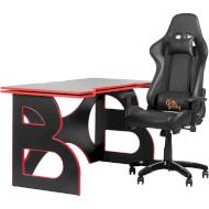 Комплект геймерской мебели BARSKY HomeWork Game Red (HG-05/SD-09)