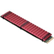 Радіатор для SSD GELID SOLUTIONS Subzero XL Red (M2-SSD-20-A-4)