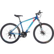 "Велосипед горный TRINX Majestic M100 17"" Matte Blue/Red/Blue 26"" (2017)"