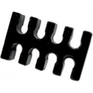 Тримач для кабелю БЖ GELID SOLUTIONS 8-pin ATX Cable Holder Black (PL-ATXCM-8P-02)