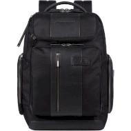 """Рюкзак PIQUADRO Brief 2 15.6"""" 22L TSA USB Black (CA5477BR2BM-N)"""