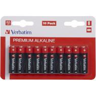 Батарейка VERBATIM Premium Alkaline AA 10шт/уп (49875)