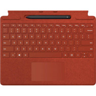 Клавиатура-обложка для планшета MICROSOFT Surface Pro X Signature Type Cover Poppy Red + Slim Pen (25O-00027)