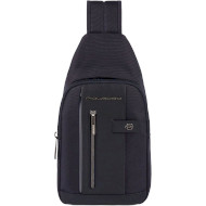 Рюкзак-слинг PIQUADRO Brief 2 LED Black (CA4536BR2L-N)
