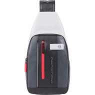 Рюкзак-слинг PIQUADRO Urban LED Gray/Black (CA4536UB00L-GRN)