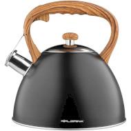 Чайник FLORINA Frank Black 2.5л (5C6026)