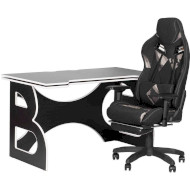 Комплект геймерской мебели BARSKY HomeWork Game Black/White (HG-06/GH-01)