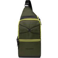 Рюкзак-слинг PIQUADRO Otello Green (CA5379S114-VE)