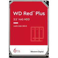 "Жёсткий диск 3.5"" WD Red Plus 6TB SATA/128MB (WD60EFZX)"
