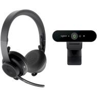 Комплект LOGITECH Pro Personal Video Collaboration Teams Kit (991-000345)