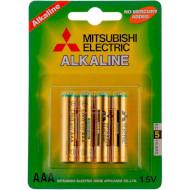 Батарейка MITSUBISHI ELECTRIC Alkaline AAA 4шт/уп (LR03/4BP)