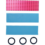 Радіатор для SSD GELID SOLUTIONS Subzero M.2 SSD Cooling Kit Red (HS-M2-SSD-10-A-4)